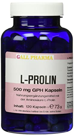 Gall Pharma L-Prolin 500 mg GPH Kapseln 120 Stuck