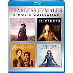 Fearless Females4-Movie Collection (Harriet / Elizabeth / Mary Queen of Scots / On the Basis of Sex) [Blu-ray]