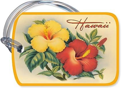 Hawaiian Luggage Hawaiian Art Luggage Tag