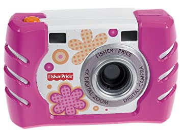 Fisher Price - W1460 - Jeu Electronique premier age - Nouvel Appareil Photo - Rose