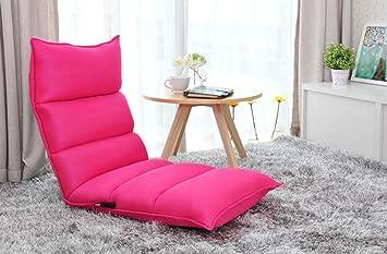 XXFFH® Canapé multifonctionnel pliable pliable Une personne, tissu en cuir PU et tissu en maille deux options, grande taille petite taille deux options , s