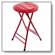 Coca-Cola Folding Bar Stool