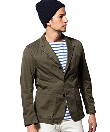 Green Label Relaxing Cotton Work Jacket 3225-199-1882