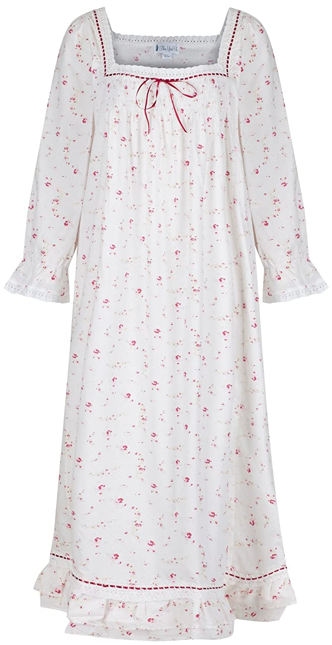 The 1 for U Martha Nightgown 100% Cotton Victorian Style - Sizes XS - 3X … 0