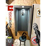 #1 Pro level Portable vocal booth - Slam Jam, turn any wall in to a pro vocal booth. (Color: charcoal)