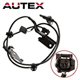 AUTEX 1pc ABS Wheel Speed Sensor Front Right 89542-42050, ALS2319, 5S8671, SU10133 compatible with Toyota RAV4 2006 2007 2008 2009 2010 2011 2012 2013 2014 2015 2016 2017 2018