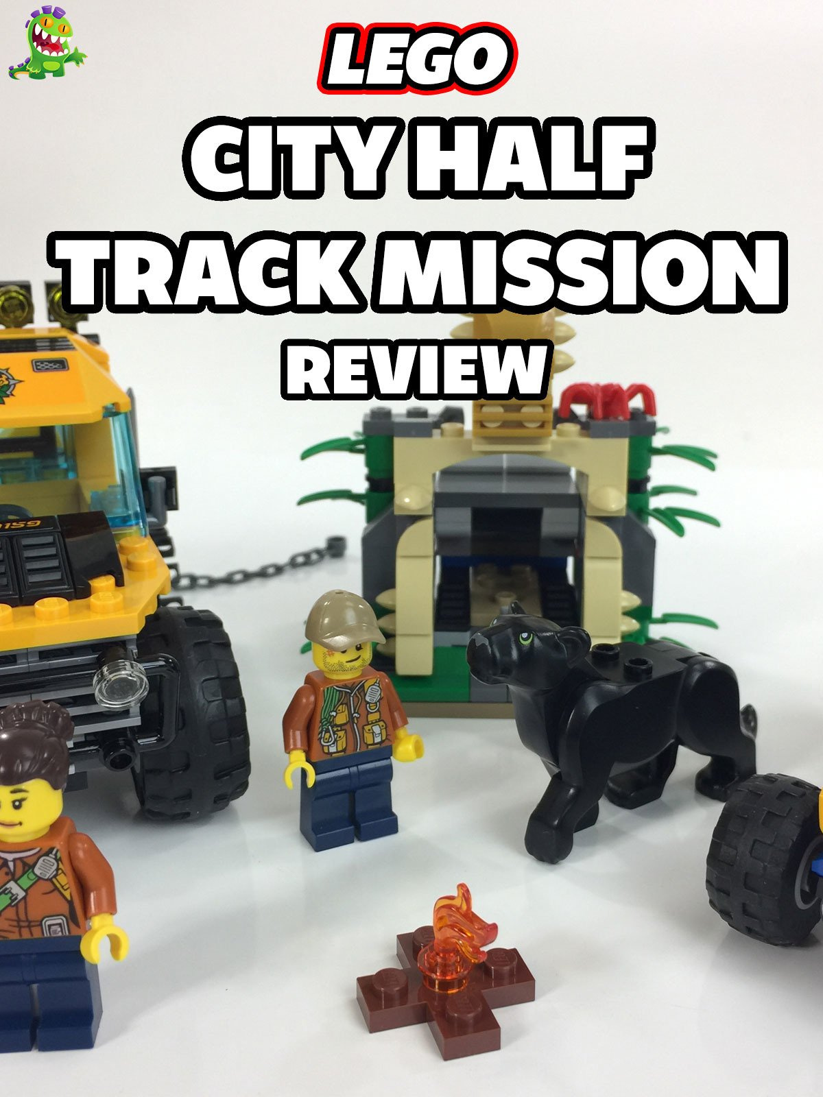 Review: Lego City Half Track Mission Review