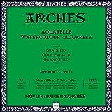 Arches Watercolor Paper Block, Cold Press, 7.9