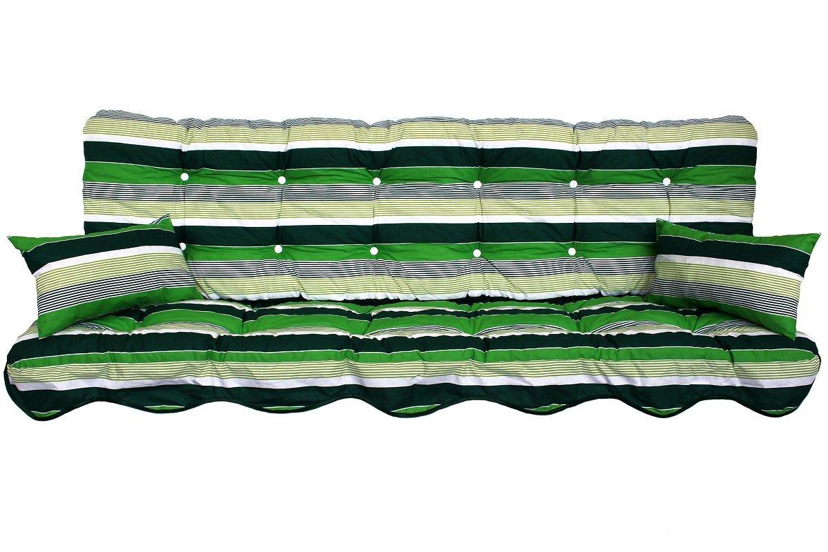 Polsterauflage Sitzauflage Gartenstuhlauflage Modell 930 (180x50 Hollywoodschaukelauflage)