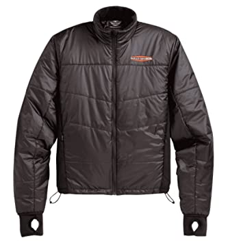 Harley-davidson mid couches imperméable nylon jacket 98204-12 vm liner