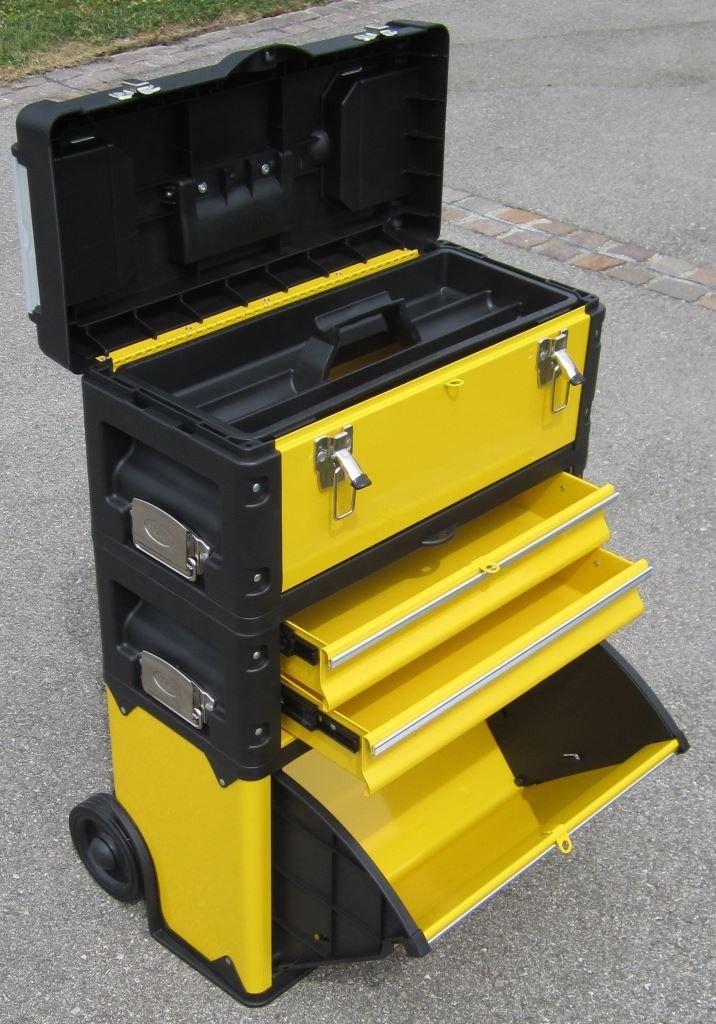 Metall Werkzeugtrolley Werkzeugkasten Werkstattwagen XL Type B305ABD von ASS  BaumarktÜberprüfung und weitere Informationen