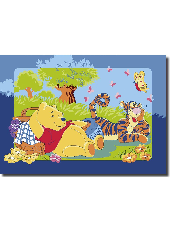 Disney Winnie Pooh Puuh XXXL TeppichAbtreterBettvorleger