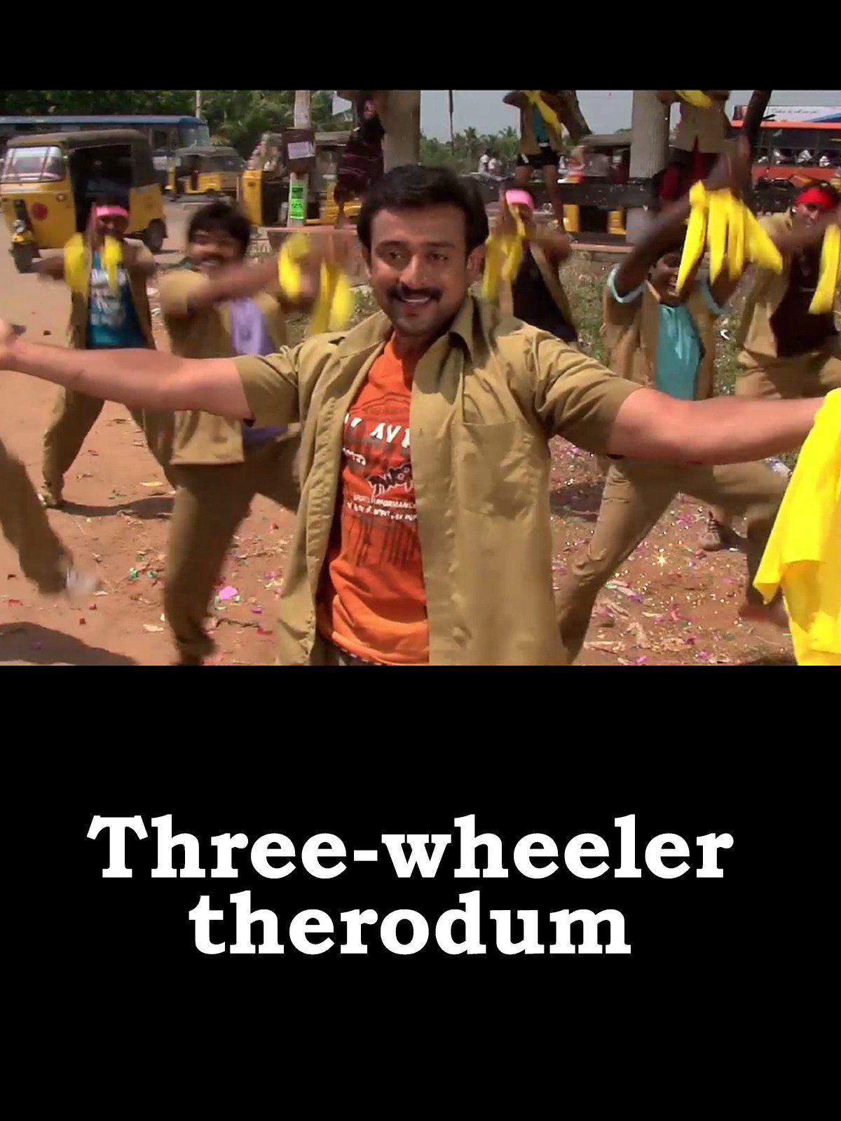 Three-wheeler therodum on Amazon Prime Video UK