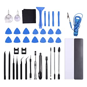 Unamela Precision Screwdriver Set, 139 in 1 Magnetic Screwdriver Tool Kit, Professional Electronics Repair Portable Bag for iPhone 8, PS4, Xbox, Laptop, Computer, Smartphone, Camera (Color: 139 IN 1)