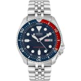 Seiko Men's SKX009K2 Diver's Analog Automatic Stainless Steel Watch (Color: blue)