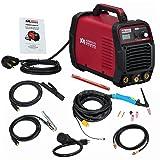 Amico TIG-205 / 200 Amp HF TIG Torch/Stick/Arc Welder 115 & 230V Dual Voltage Welding Machine (Color: Red, Tamaño: Full Size)