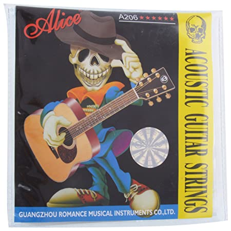 Alice A 206 Acoustic Guitar Six string available at Amazon for Rs.149