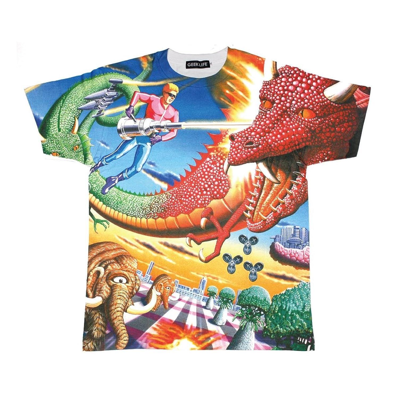 スペースハリアー フルプリント Tシャツ Space Harrier Full-Print T-shirt (M)