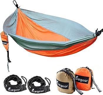 Bisgear XL Double & Single Camping Hammock