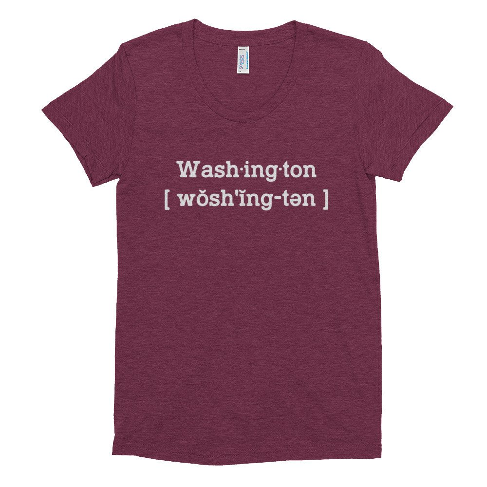Washington Womens T Shirt 0000000010863/