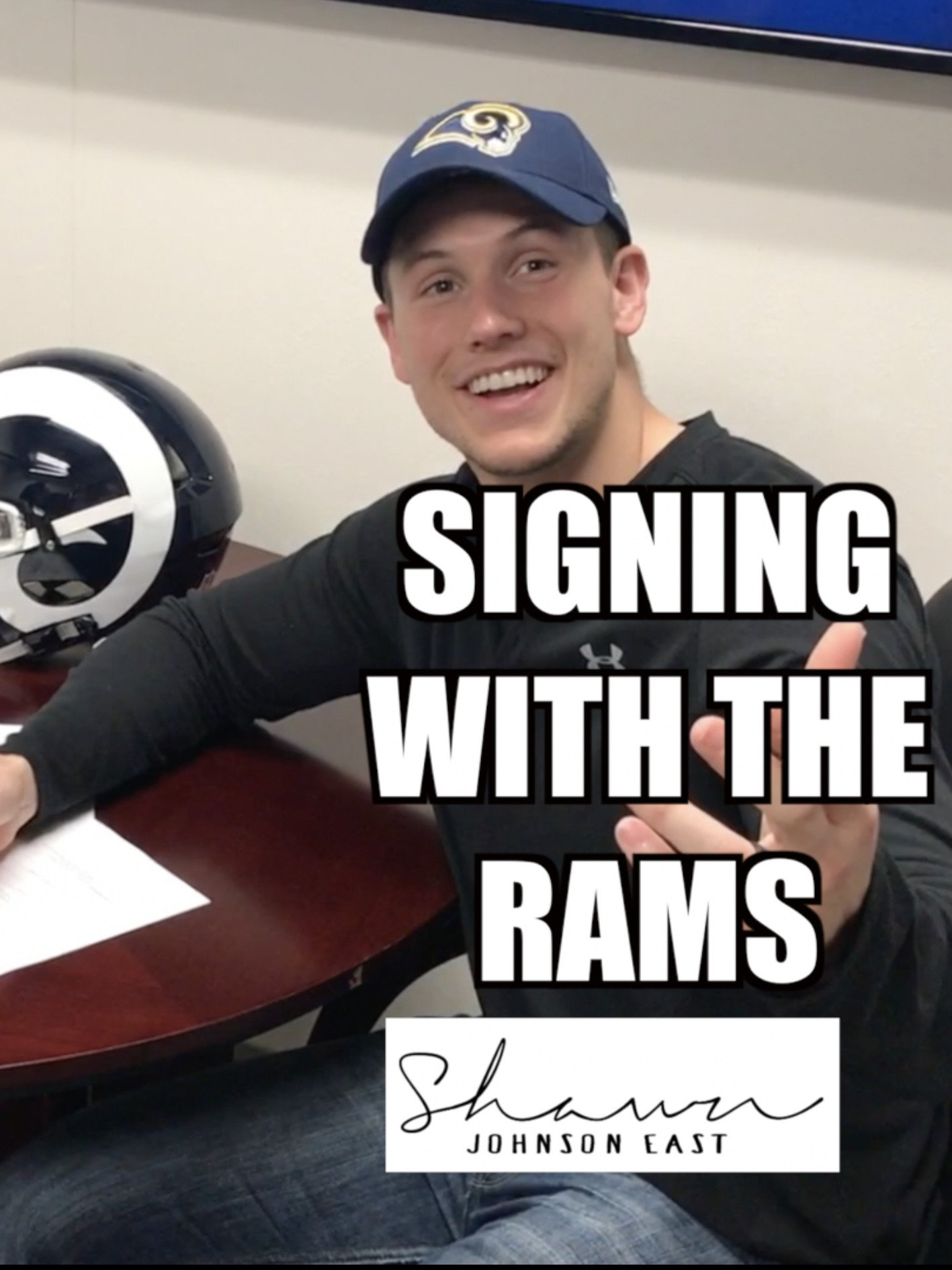 Signing with the Rams