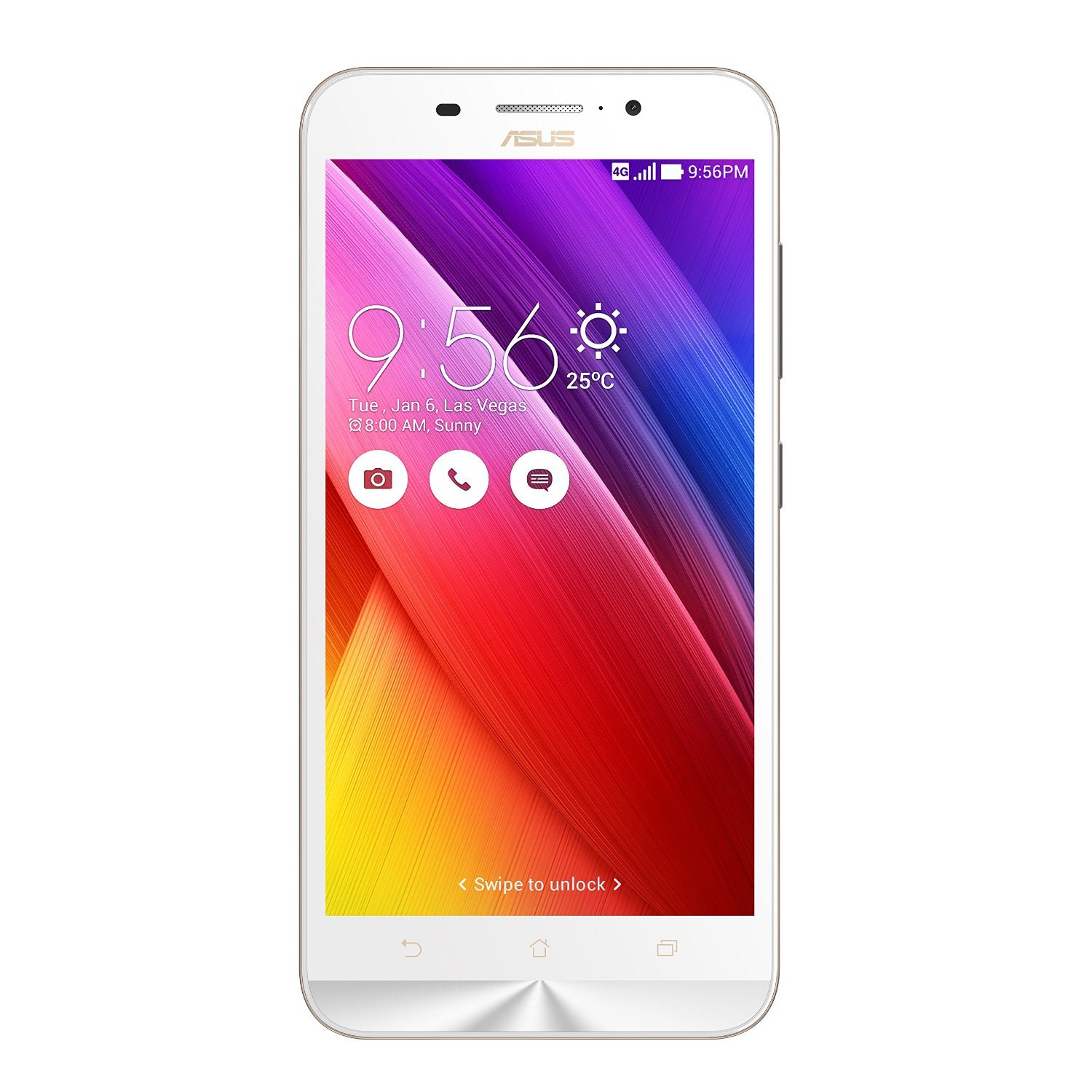 Certified Refurbished Mobiles By Amazon | Asus Zenfone Max ZC550KL (White, 16GB) (Certified Refurbished) @ Rs.7,199
