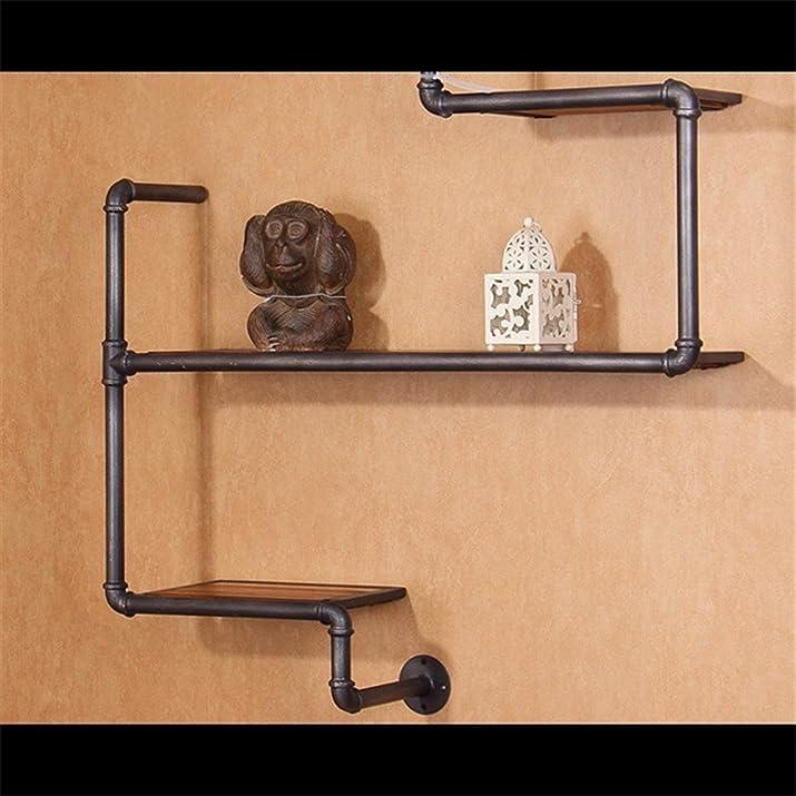 LIUYU Tubi d'acqua moderni in stile europeo Minimalista supporto metallico in metallo Mensola creativa a muro di rack