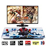 Barbella 2200 HD Arcade Game Console-3D Pandoras Box 6S Arcade Video Game 1080P Game System with 2190 Games Supports 3D Games 1920x1080 Full HD Support TF Card to Expand More Games for PC/TV/PS4