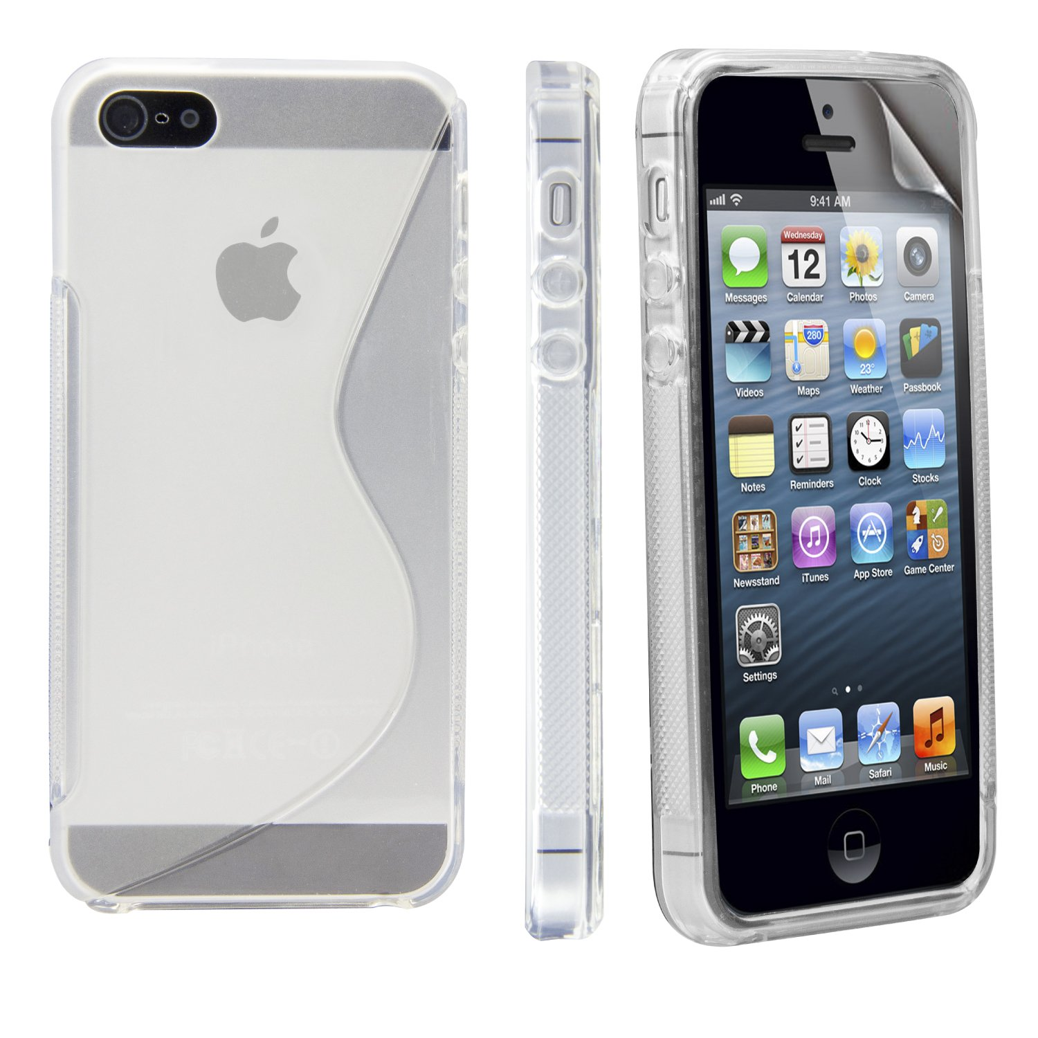 Iphone 5 Cases Clear Clear Rubber Iphone 5s Case