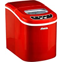 Avalon Bay AB-ICE26R Portable Ice Maker (Red)