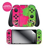 Nintendo Switch Skin & Screen Protector Set, Officially Licensed By Nintendo - Splatoon 2