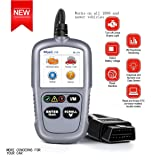 OBD2 Scanner Digital Code Reader ML329 Automotive Diagnostic Scan Tool, Read & Erase DTCs, Quick definition Trouble Codes for OBD II/EOBD Compliant Vehicles,I/M Readiness Check(TFT Color Screen New)