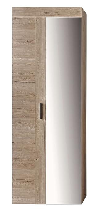 Maisonnerie 1308-117-90 Meuble d'Entrée Armoire Chêne de San Remo LxHxP 65x38x188 cm