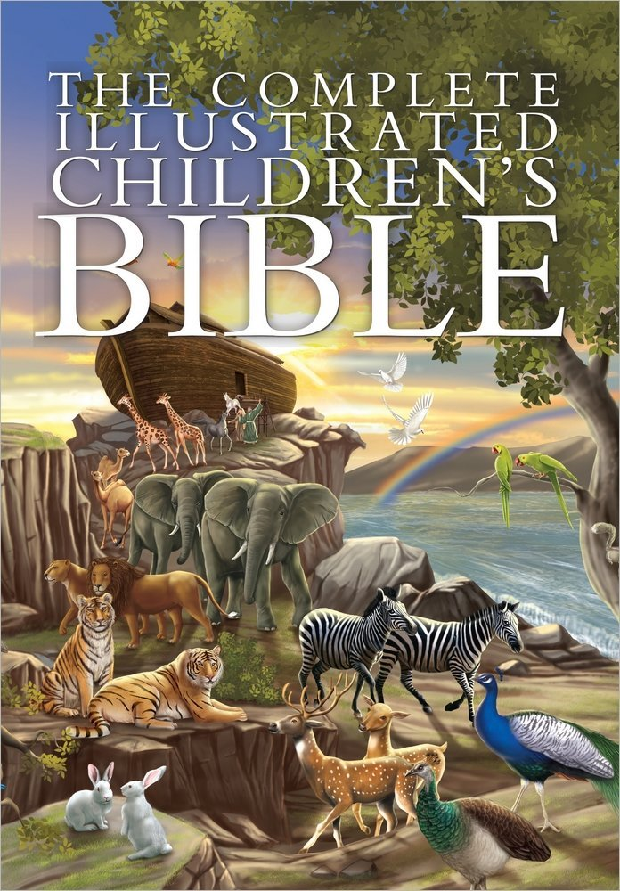 The Complete Illustrated Childrens Bible ISBN-13 9780736962131