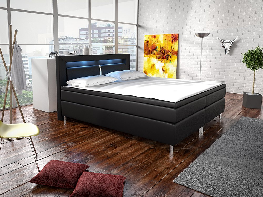 unabh ngiger boxspringbett fakten test 2019 auf. Black Bedroom Furniture Sets. Home Design Ideas