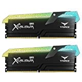 TEAMGROUP T-Force Xcalibur RGB DDR4 16GB (2x8GB) 4000MHz (PC4-32000) CL18 Desktop Memory Module ram TF6D416G4000HC18EDC01 - Special Edition (Color: Special Edition (totem), Tamaño: 16GB Kit (2 x 8GB) Special Edition)