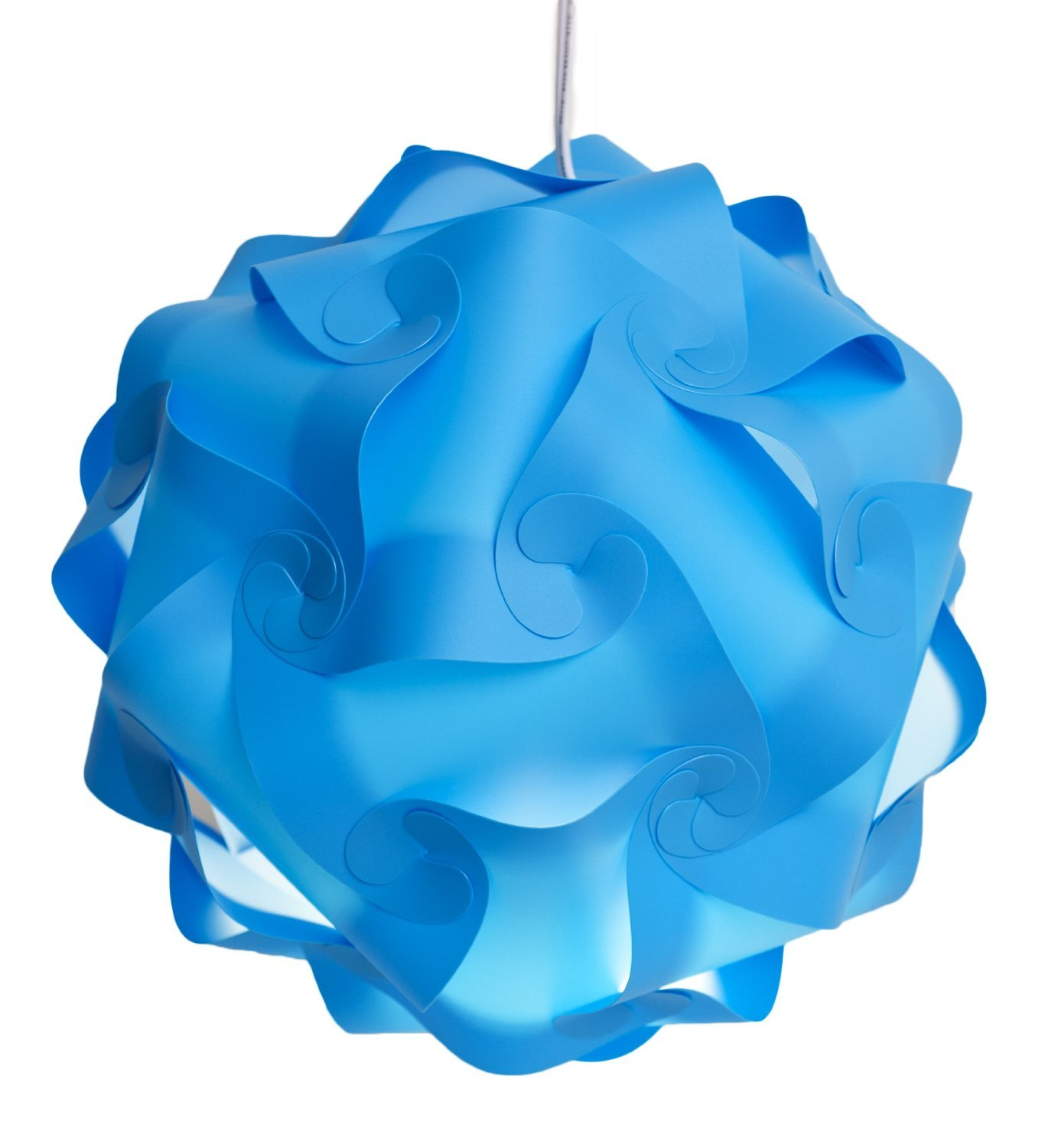 blue lampshade for kid's room