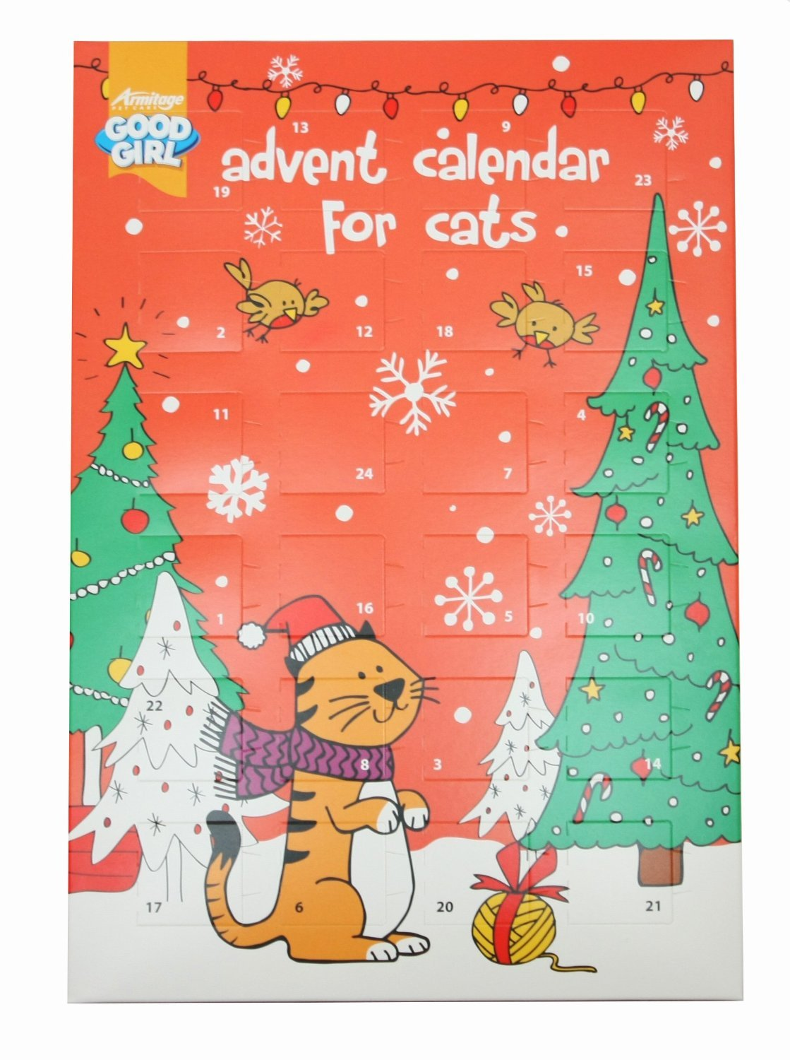 Good Girl Advent Cat Calendar