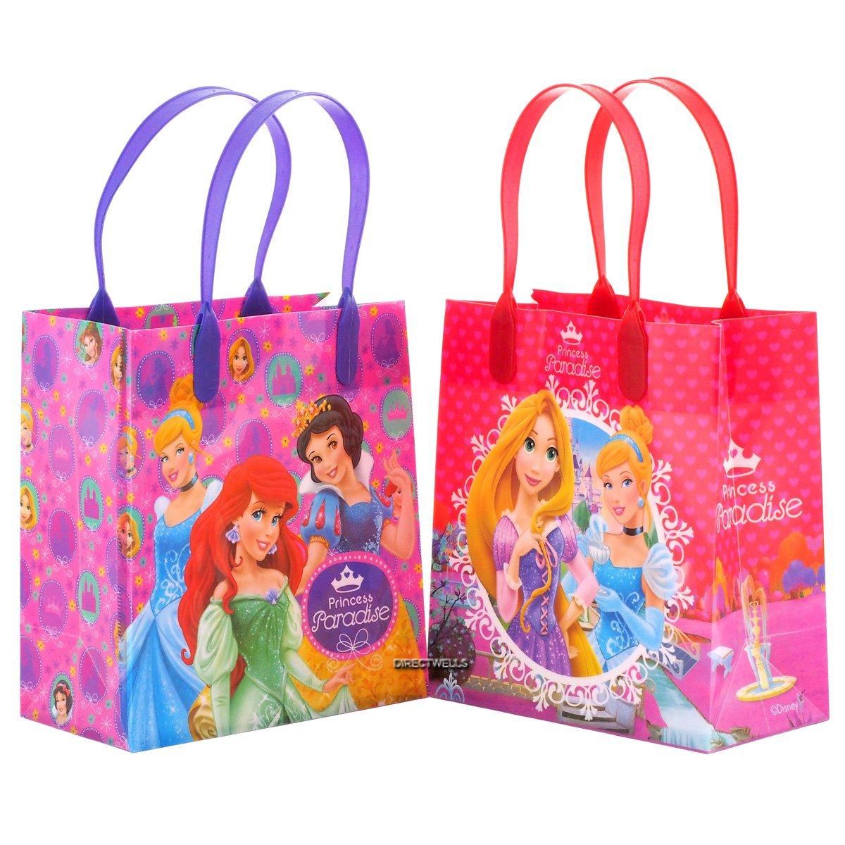 Disney Princess Birthday Party Favor Bags