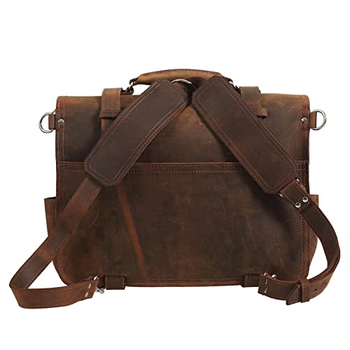 brown leather laptop bag 2016