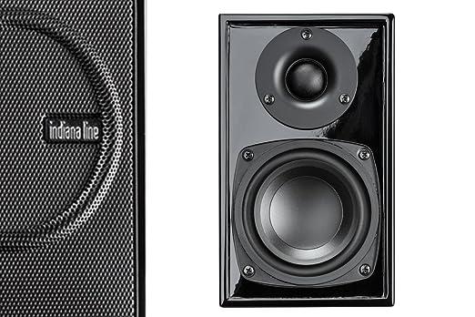 Indiana Line ZEROBLACK Enceinte pour MP3 & Ipod Noir