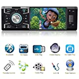 Indash Car Stereo With Bluetooth Single Din FM Radio for Car and MP5 Player USB/SD/AUX/FM Receiver Wireless Remote Control
