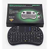 Mini teclado 2.4GHz inalámbrico con  Touchpad y mouse - Smart&Cool -«  para PC, PAD, XBox 360, PS3, Google Android TV Box, HTPC, IPTV  (negro)