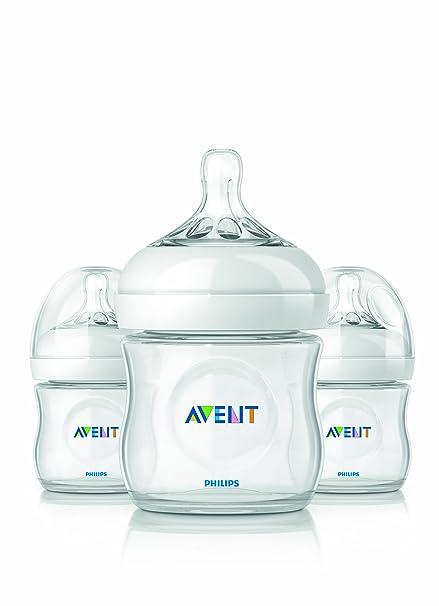 海淘新安怡奶瓶:飞利浦 新安怡 AVENT 自然原生奶瓶 125ml