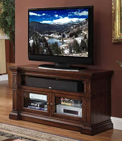 52 in. TV Cabinet in Old World Umber Finish