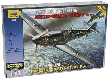 Zvezda - Z4806 - Maquette - Aviation - Messerschmitt Bf109f-4