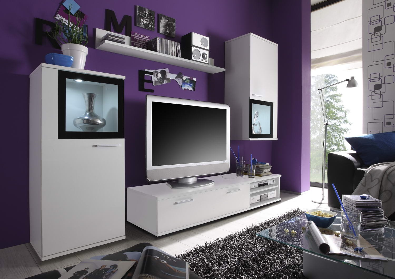 wohnzimmer m bel. Black Bedroom Furniture Sets. Home Design Ideas