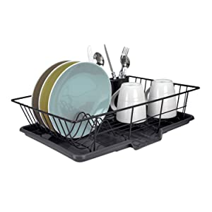 home basics 3 piece dish drainer review