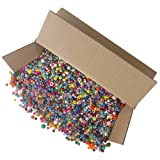 The Beadery The Bonanza 5LB of Mixed Craft Beads, Sizes, Multicolor (Color: Multicolor, Tamaño: Mixed Sizes)