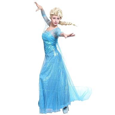 déguisement adulte la reine des neiges